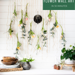 How to Create Flower Wall Art