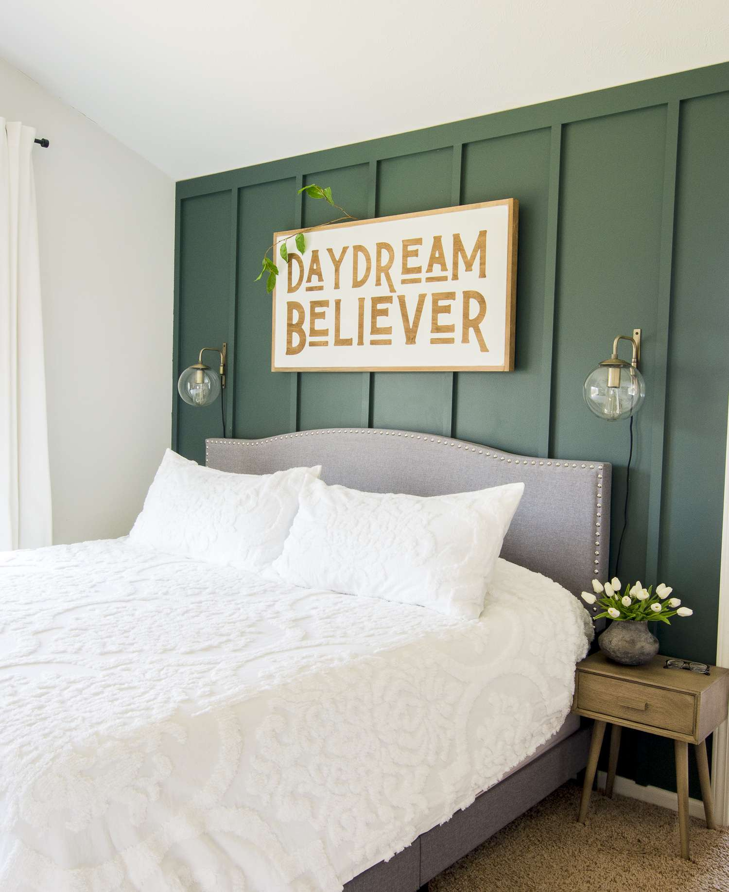 Spring bedroom refresh.
