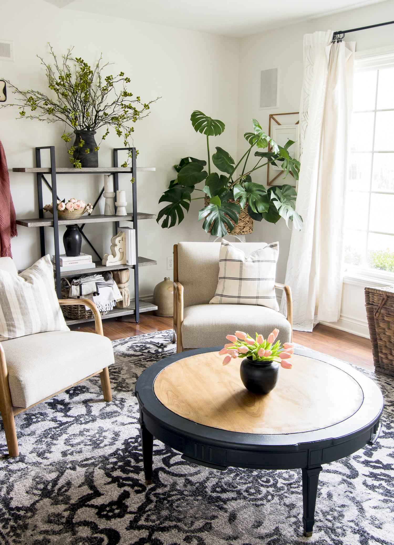 DIY furniture restoration project.
