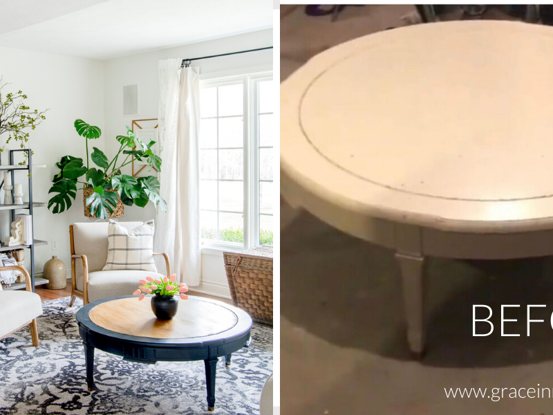 DIY Furniture Restoration | Coffee Table Update