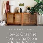 Living Room Cabinet Storage