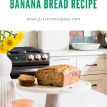 Moist Banana Bread with Applesauce Recipe