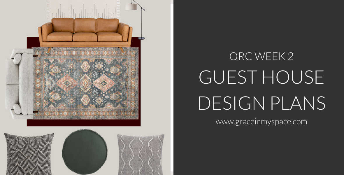 Week 2 of the One Room Challenge is all the details for my guest house design plans! See how I'm transforming this cabin to a cozy modern retreat.