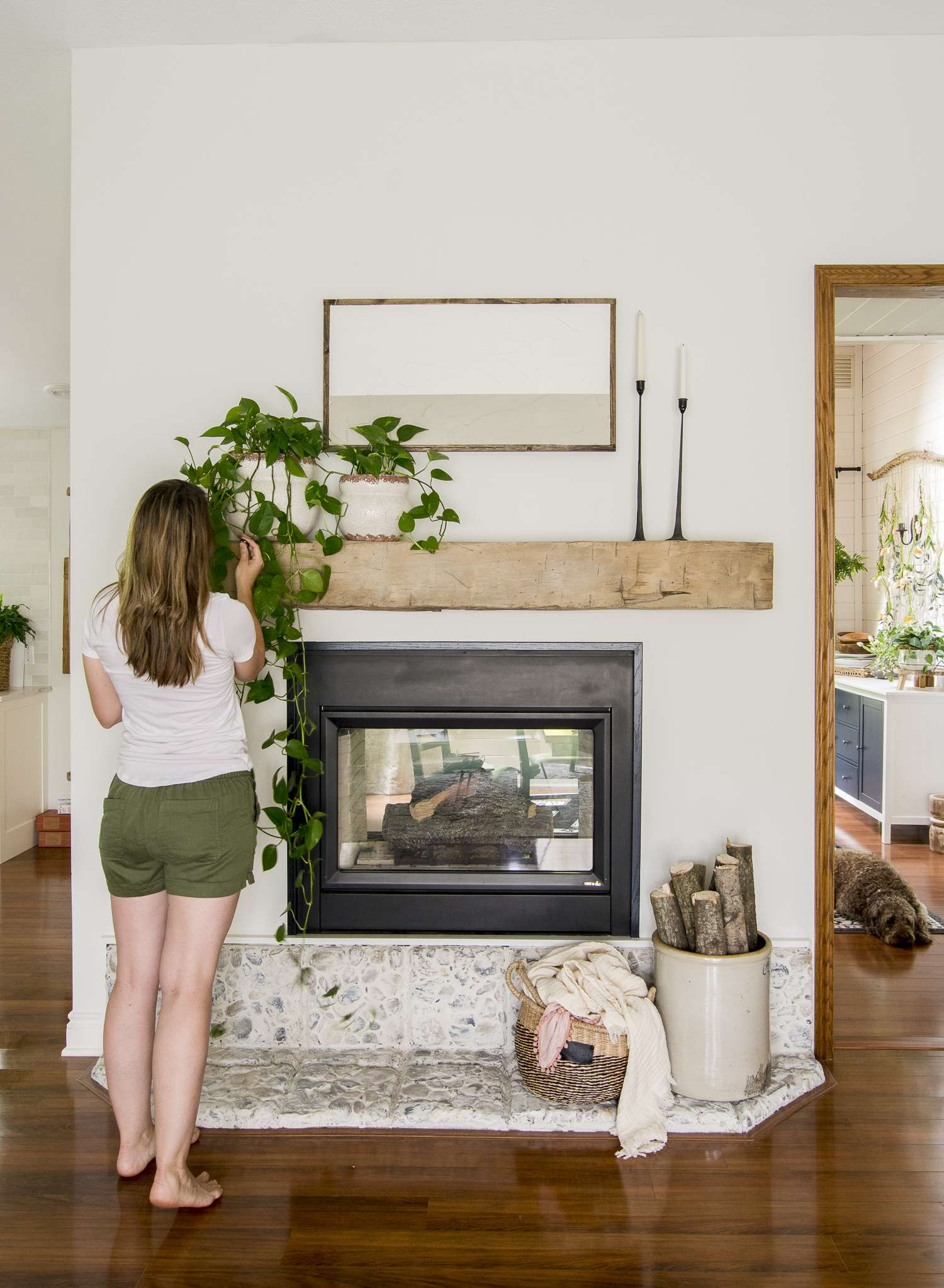 Effortless Summer Mantel Ideas Grace In My Space