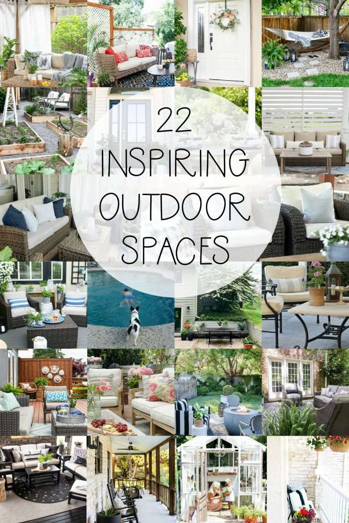 Beautiful Outdoor Spaces for Entertainment & Rest