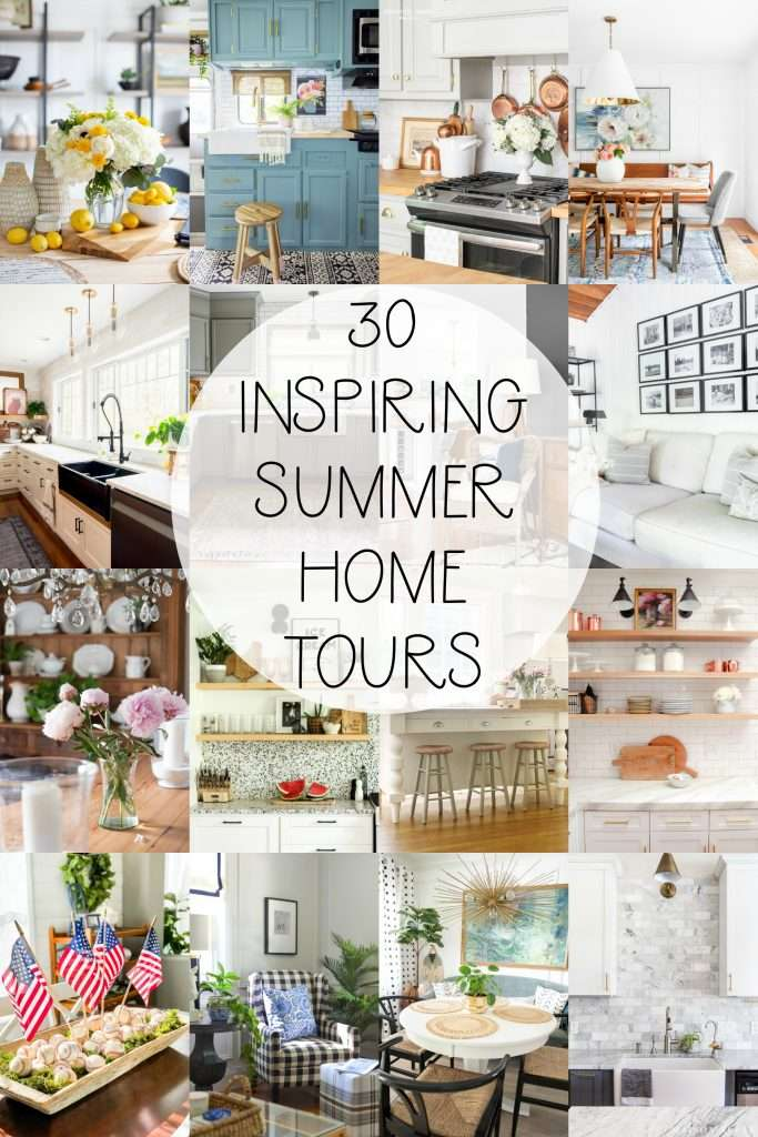 30 Inspiring Summer Home Tours