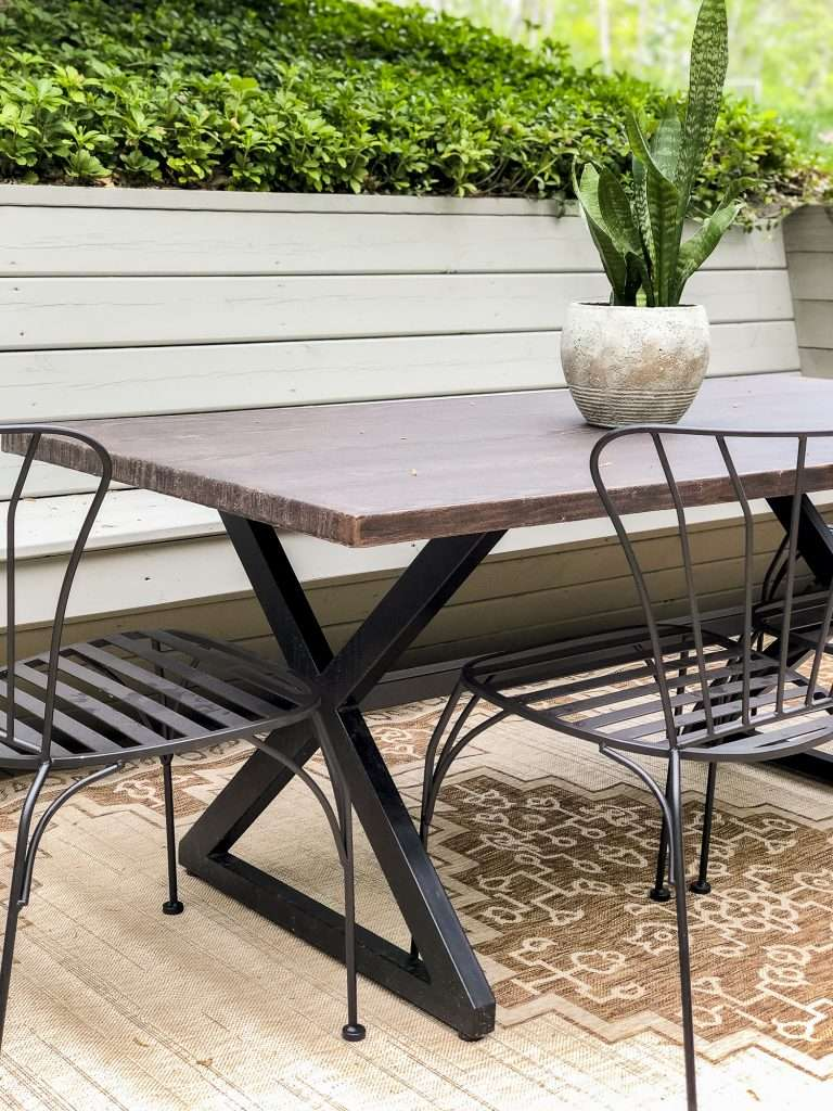 Patio chairs for outdoor spaces.