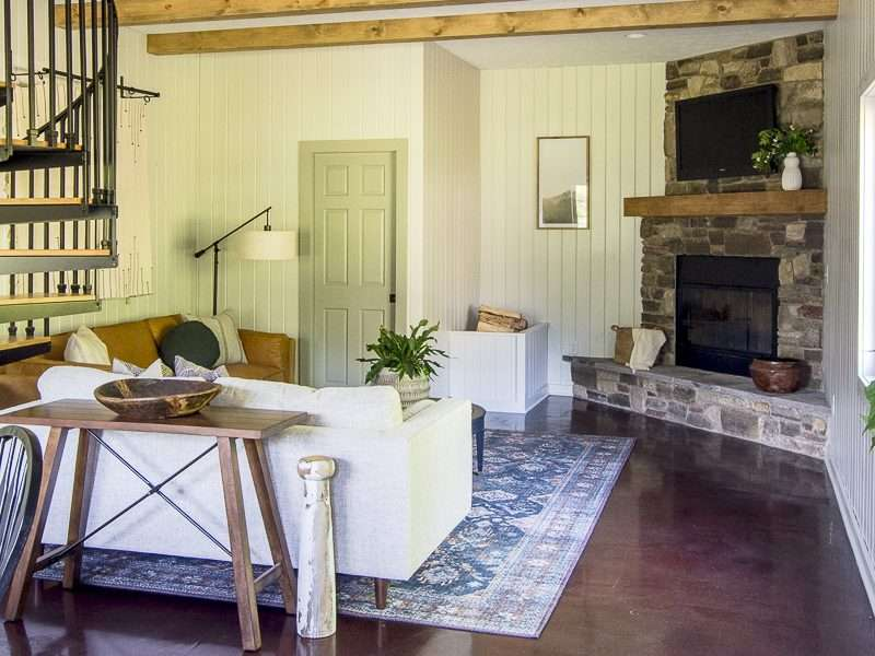 Rustic Modern Guesthouse Remodel Reveal