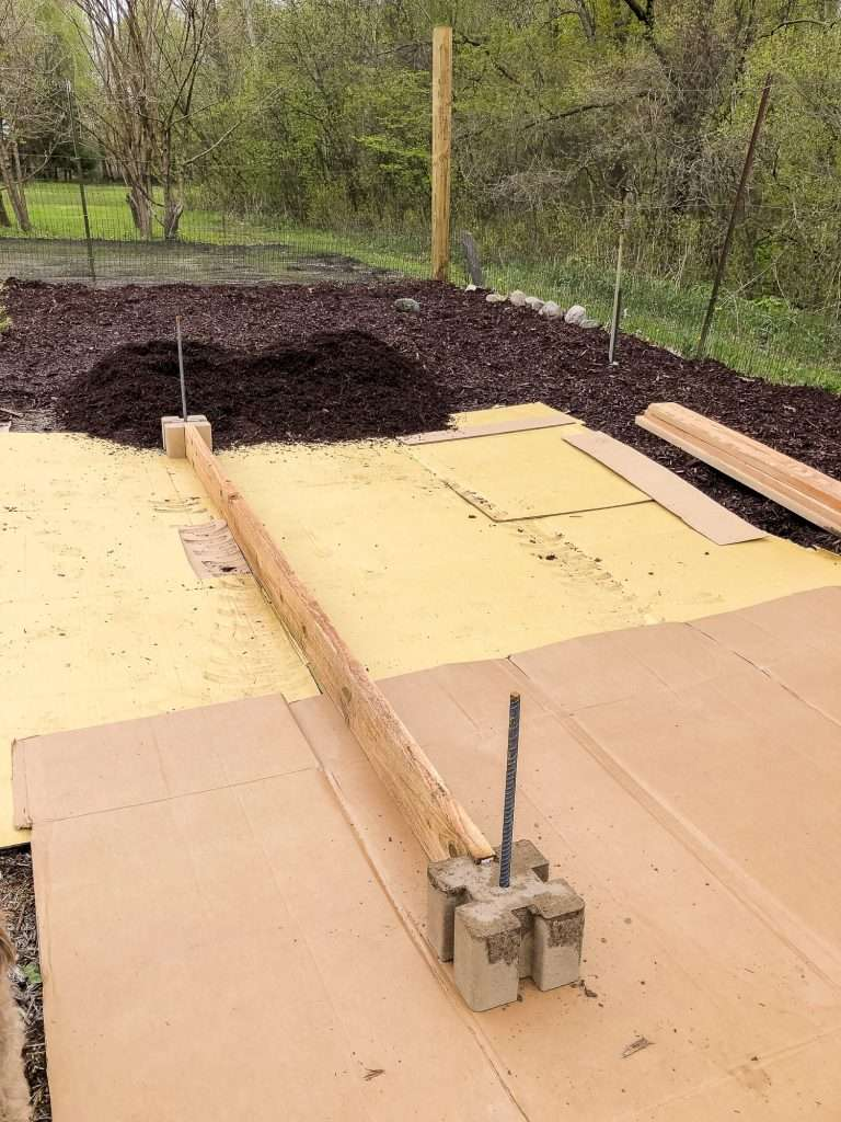 Easy raised garden bed tutorial.