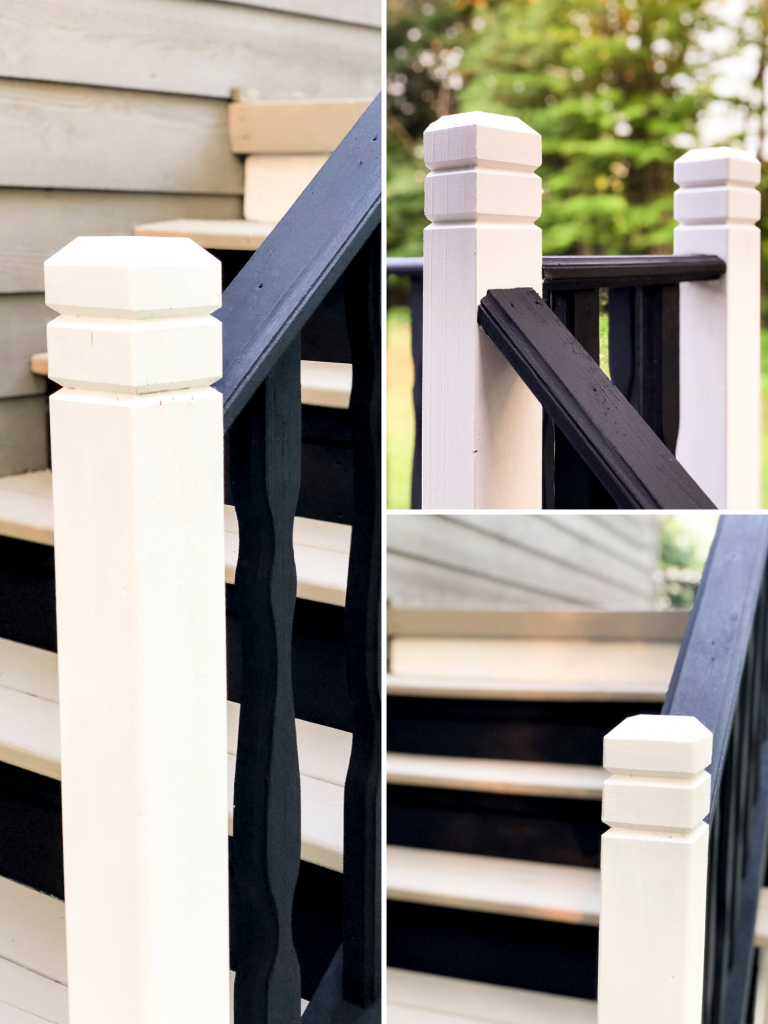 Painted railings
