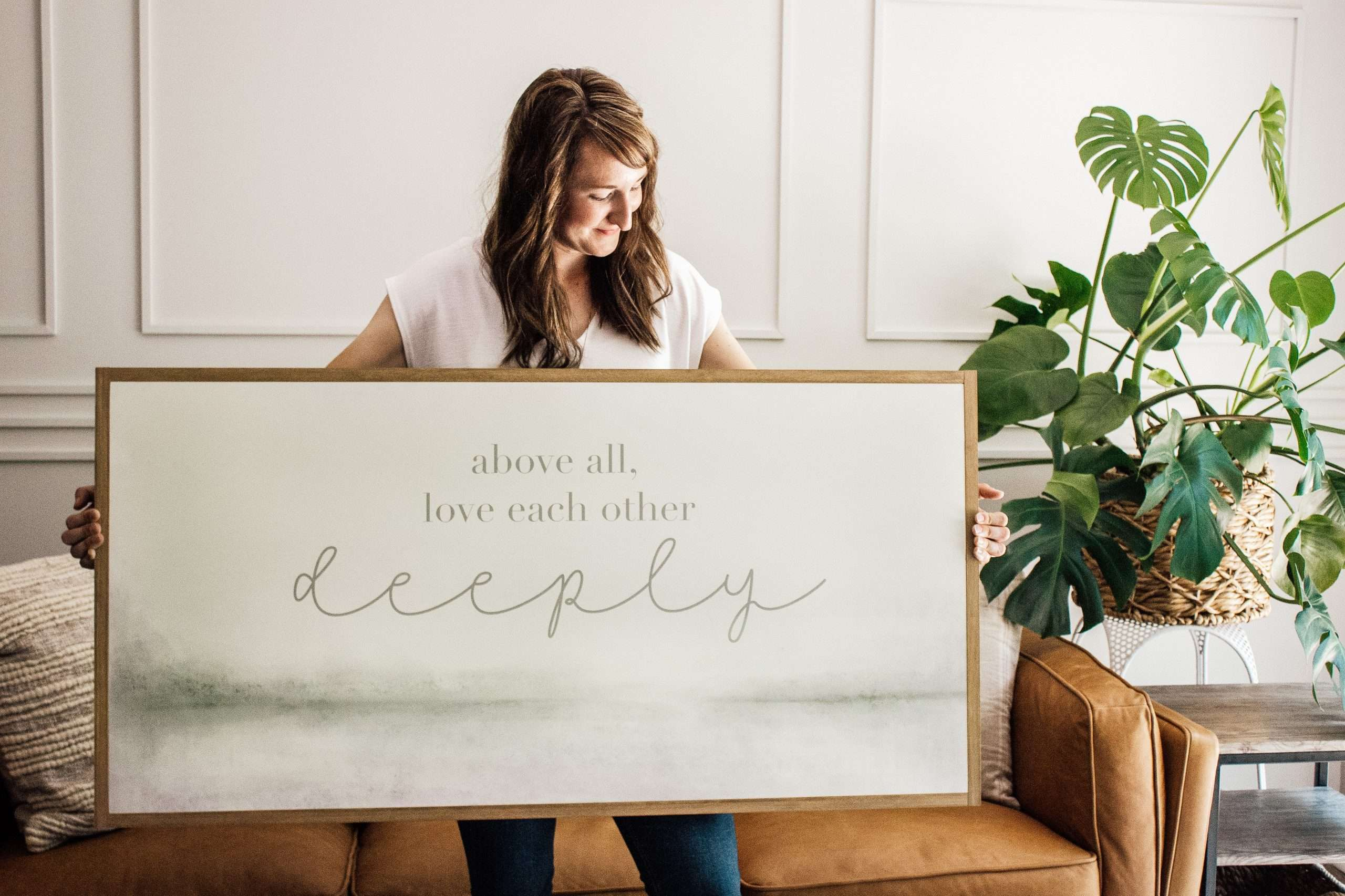 Large Abstract wall art sign design inspiration