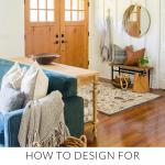Neutral Fall Decor Ideas for the Entryway