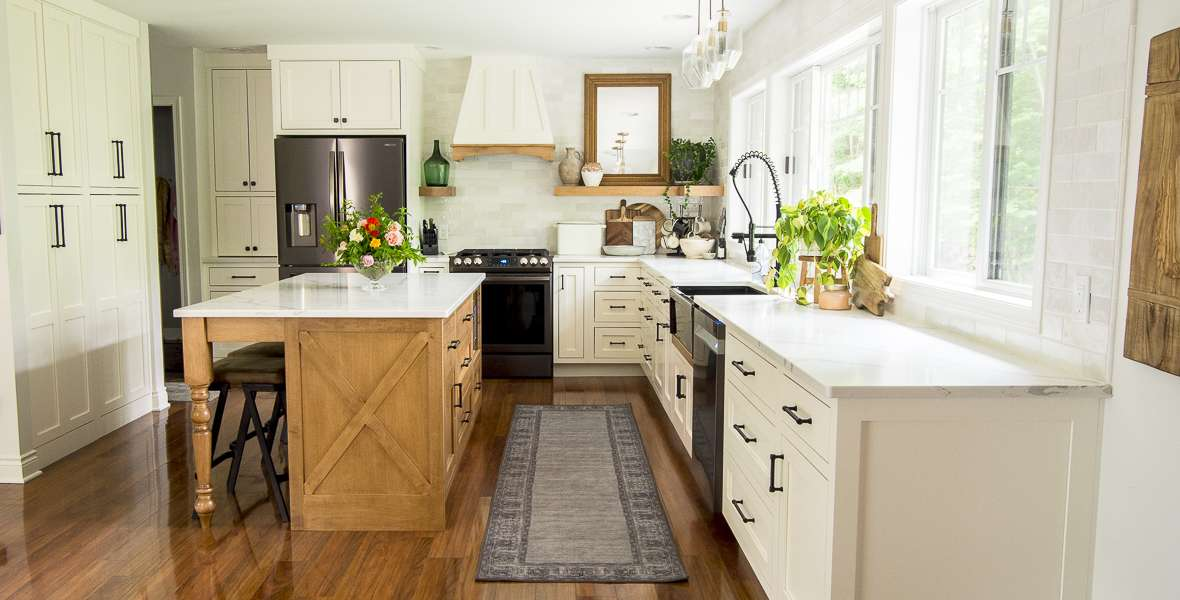 After designing two custom kitchens, here is an easy breakdown on where you can save during your kitchen remodel. Plus, what you should splurge on too!