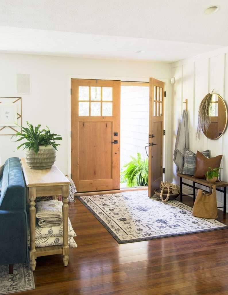 Fall entryway decor ideas.
