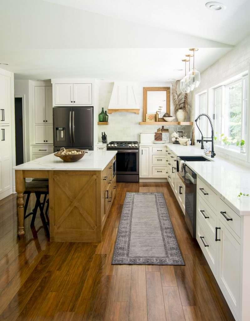 Neutral kitchen decor ideas.