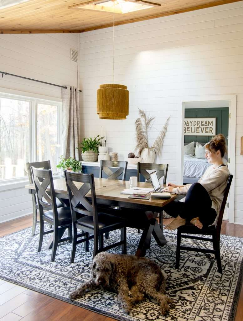 Cozy home ideas with area rugs.