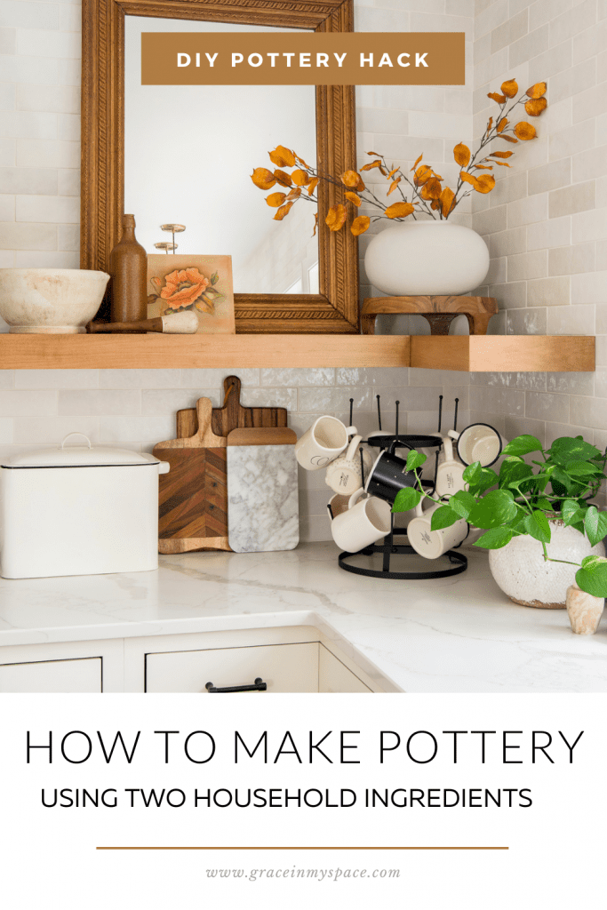 Make Your Own Pottery with Upcycled DIY Pottery