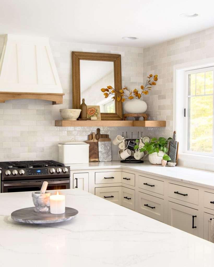 Kitchen island styling