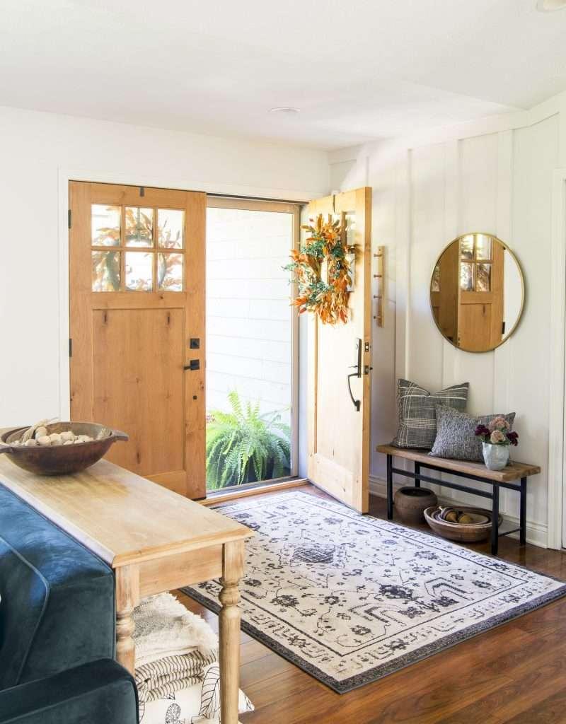 Cozy home ideas in the entryway