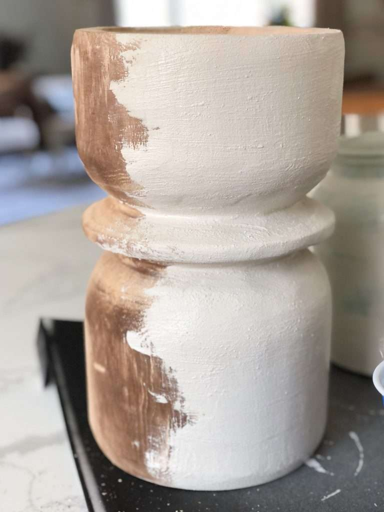 DIY pottery painting
