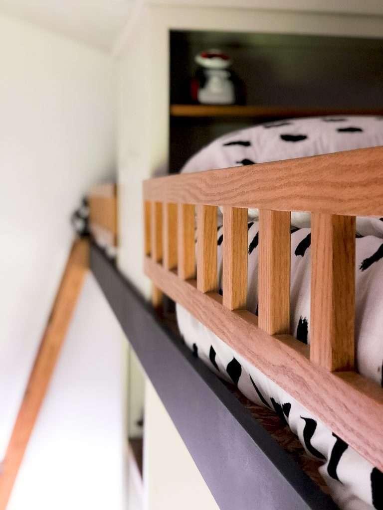 Loft bed railing.