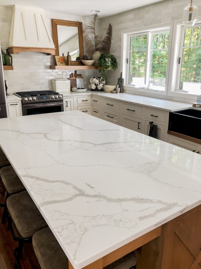 Kitchen countertops.