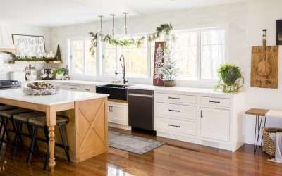 3 Easy Ways to Style Christmas Kitchen Decor