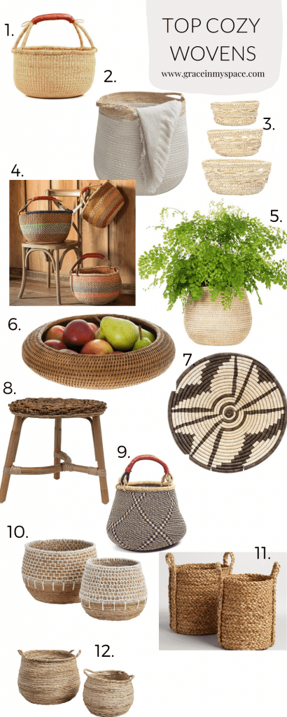 12 Cozy Home Ideas with baskets to Create Your Haven
