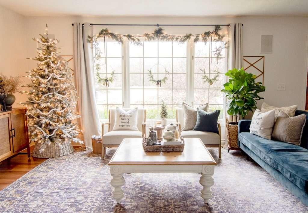 Backlight garland Christmas decor