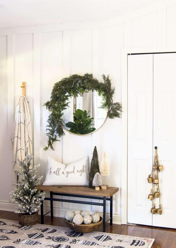 Festive Christmas area rugs.