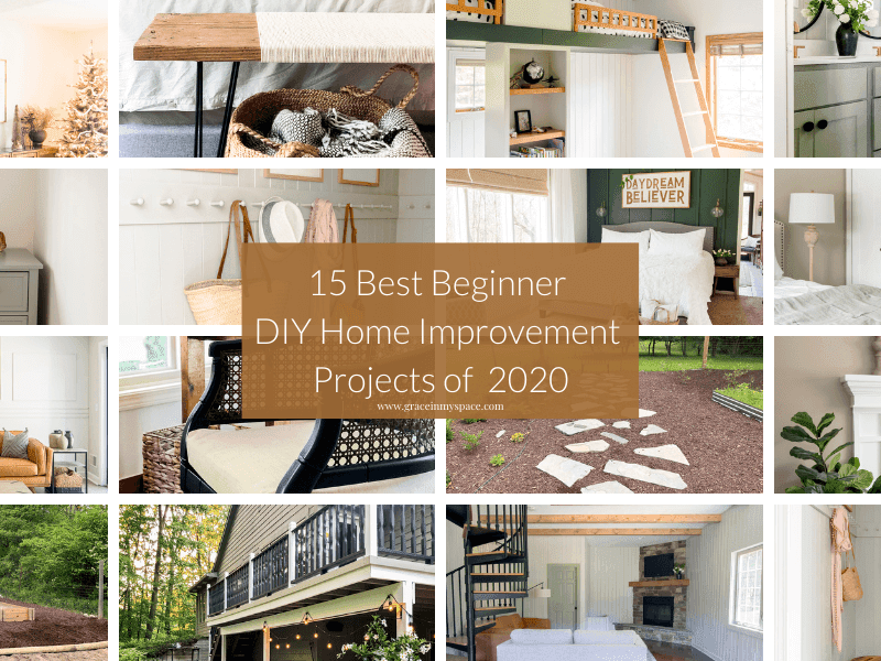 15 Best Beginner Home Improvement Projects for the DIYer