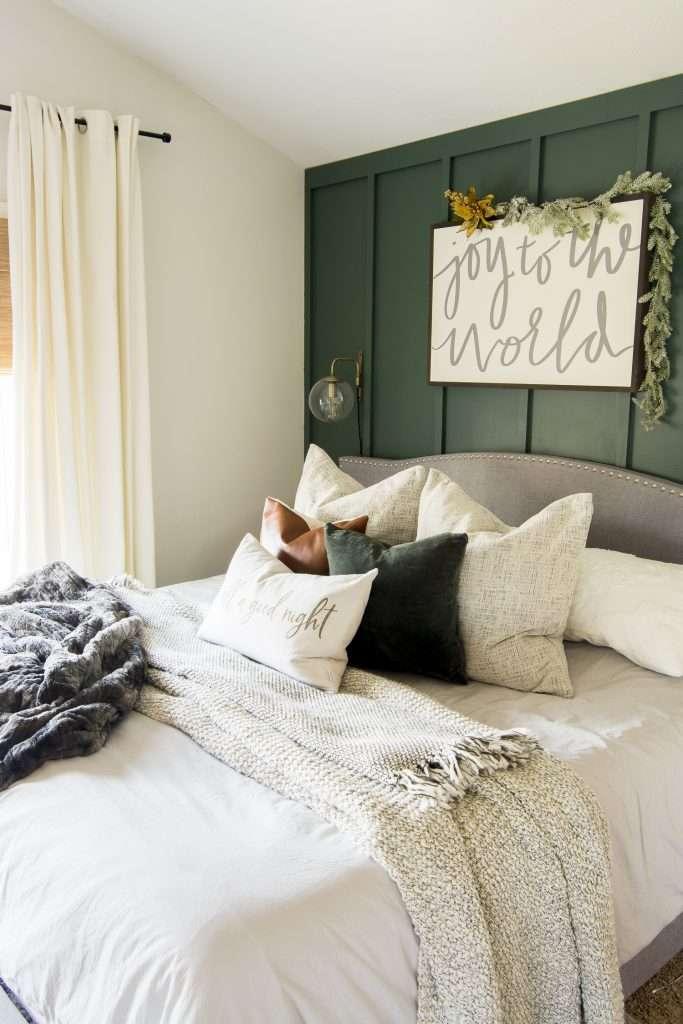 Cozy winter textiles