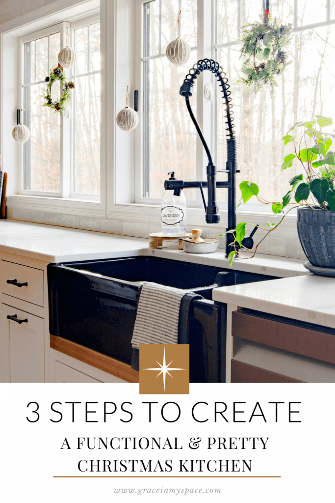 How to Style Christmas Kitchen Decor in 3 Steps