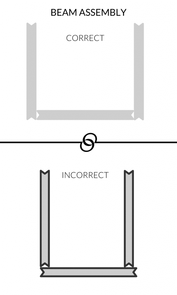 How to Make A DIY Beam Door Header