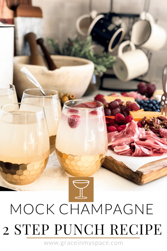 2 Step Mock Champagne Punch Recipe