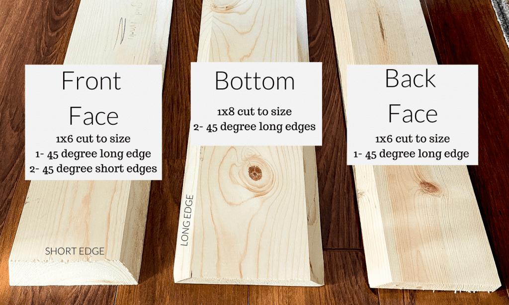Wood beam measurements