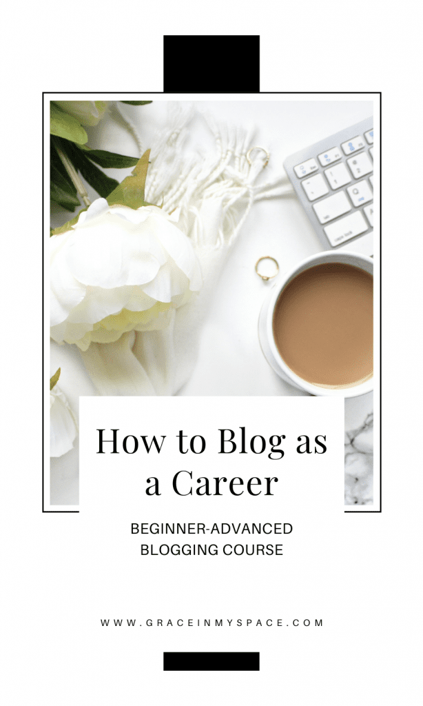 Online course to learn how to blog.