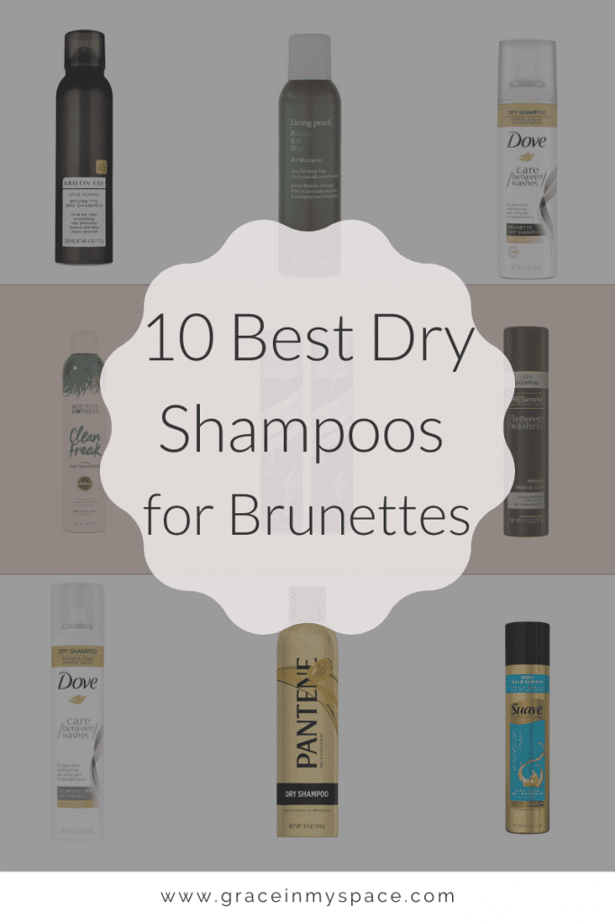 10 Best Dry Shampoos for Brunettes | An Honest Review