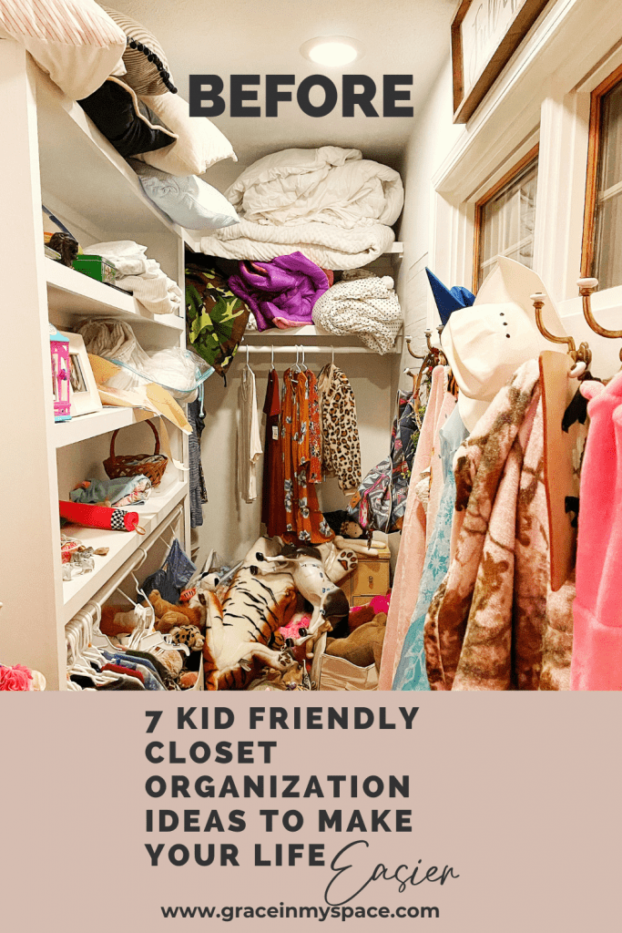 Top Tips for Lasting Kid Friendly Closet Organization