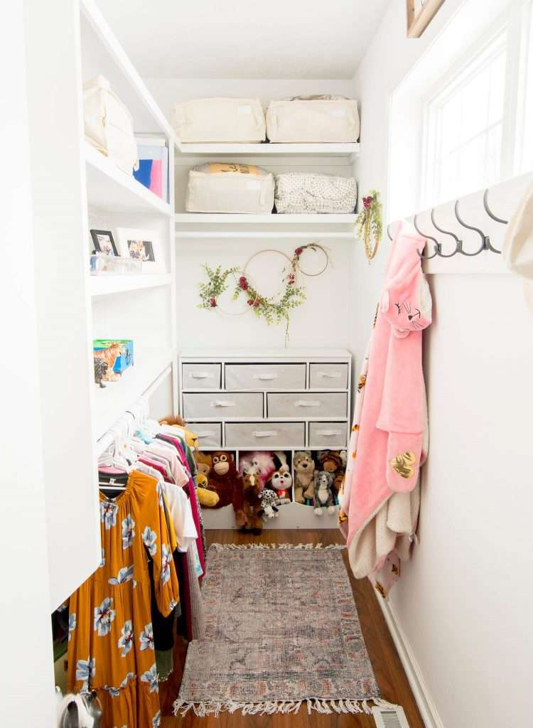 Kids closet organization ideas.