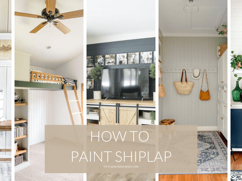 How to Paint Shiplap Cracks & More