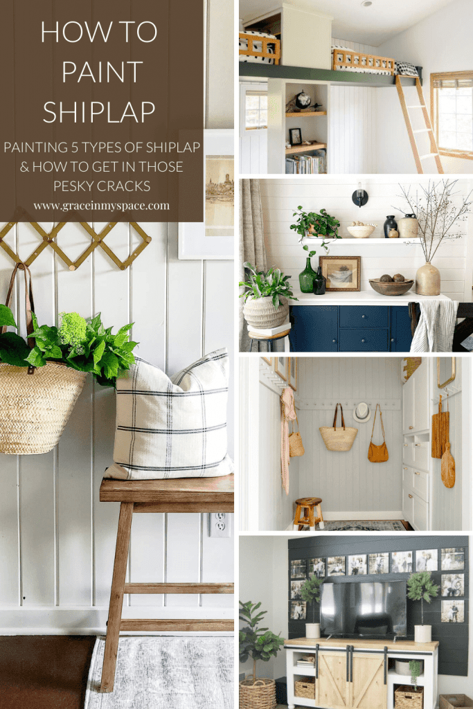 Painting 5 types of shiplap