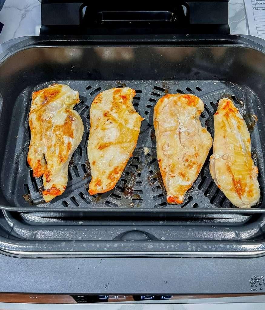 Chicken in an air fryer
