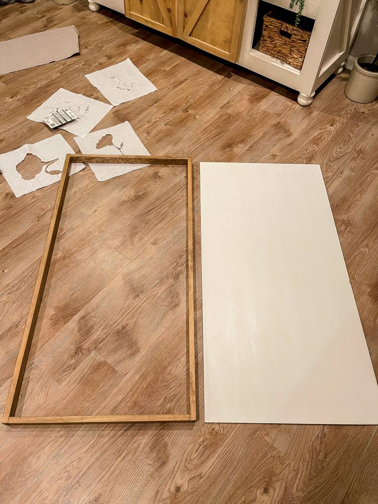 Frame and backer board