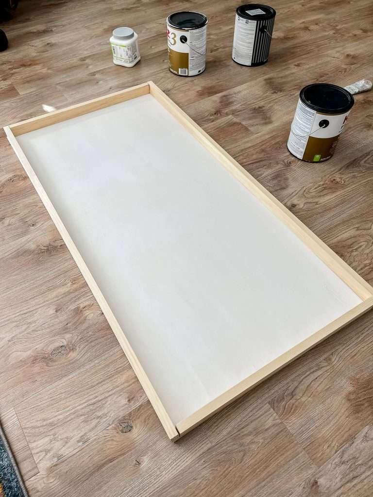 DIY textile frame