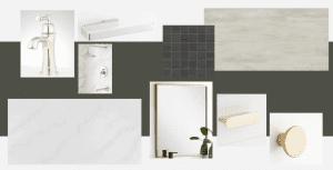 Organic Modern Bathroom Design Plans