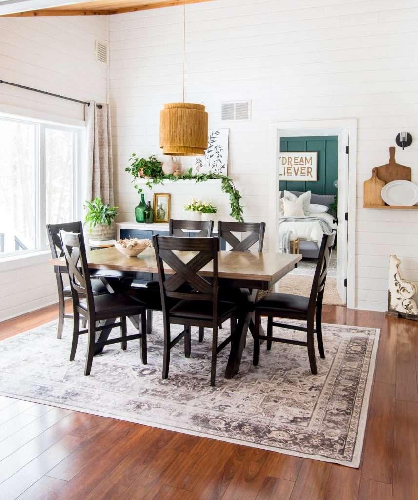 Spring dining room design