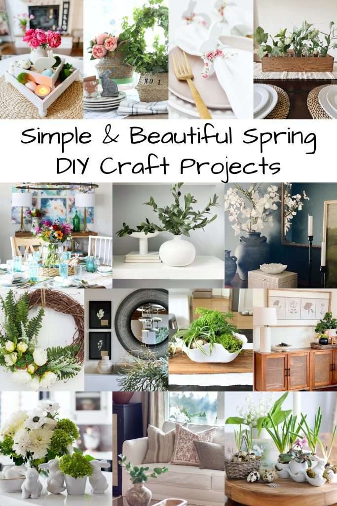 Simple and Beautiful Spring Craft Projects