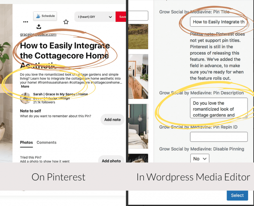 Example of using social grow as a blog best practices