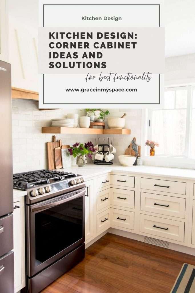 Kitchen Design: Corner Cabinet Ideas